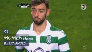 Sporting CP, Jogada, Bruno Fernandes aos 53'