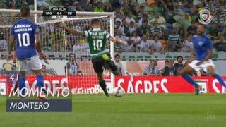 Sporting CP, Jogada, Montero aos 41'