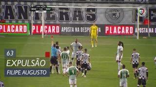 Rio Ave FC, Expulsão, Filipe Augusto aos 63'