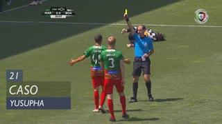 Boavista FC, Caso, Yusupha aos 21'