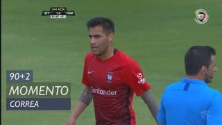 Marítimo M., Jogada, Correa aos 90'+2'