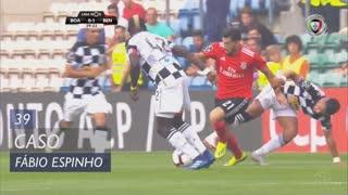 Boavista FC, Caso, Fábio Espinho aos 39'