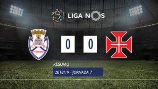 Liga NOS (7ªJ): Resumo CD Feirense 0-0 Belenenses SAD