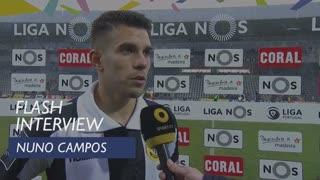 Liga (30ª): Flash Interview Nuno Campos