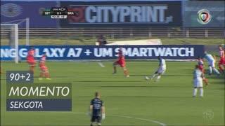 Vitória FC, Jogada, Sekgota aos 90'+3'