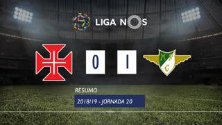 Liga NOS (20ªJ): Resumo Os Belenenses 0-1 Moreirense FC