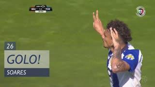 GOLO! FC Porto, Soares aos 26', SC Braga 1-1 FC Porto