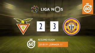 Liga NOS (11ªJ): Resumo Flash CD Aves 2-3 CD Nacional