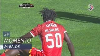CD Aves, Jogada, M. Baldé aos 34'