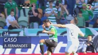 Sporting CP, Caso, Bruno Fernandes aos 34'