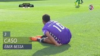Vitória FC, Caso, Éber Bessa aos 3'