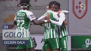 GOLO! Rio Ave FC, Gelson Dala aos 34', SC Braga 1-1 Rio Ave FC