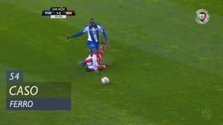 SL Benfica, Caso, Ferro aos 54'