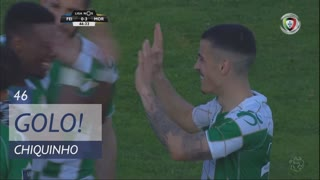 GOLO! Moreirense FC, Chiquinho aos 46', CD Feirense 0-3 Moreirense FC