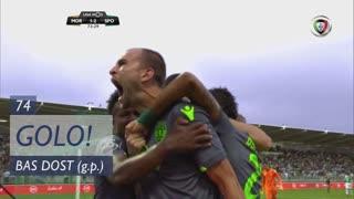 GOLO! Sporting CP, Bas Dost aos 74', Moreirense FC 1-2 Sporting CP