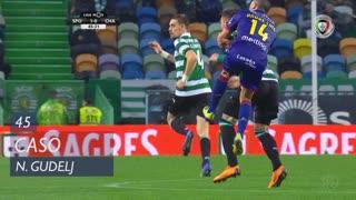 Sporting CP, Caso, N. Gudelj aos 45'