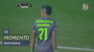 Sporting CP, Jogada, Raphinha aos 56'