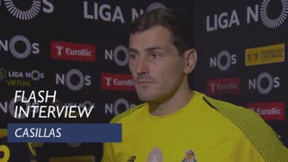 Liga (17ª): Flash interview Casillas
