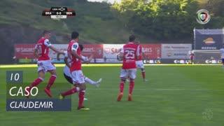 SC Braga, Caso, Claudemir aos 10'
