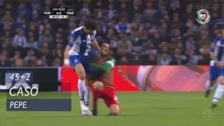 FC Porto, Caso, Pepe aos 45'+2'