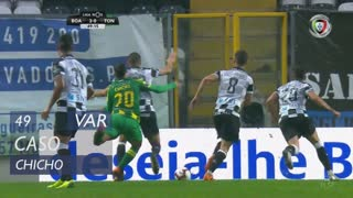 CD Tondela, Caso, Chicho aos 49'