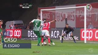 SC Braga, Caso, Ricardo Esgaio aos 61'