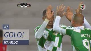GOLO! Moreirense FC, Ivanildo aos 47', Moreirense FC 1-0 SC Braga