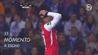 SC Braga, Jogada, Ricardo Esgaio aos 55'