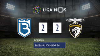 Liga NOS (26ªJ): Resumo Belenenses 2-2 Portimonense