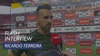 Liga (32ª): Flash Interview Ricardo Ferreira