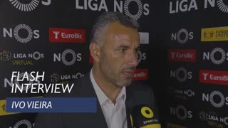 Liga (26ª): Flash Interview Ivo Vieira