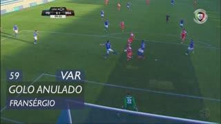 SC Braga, Golo Anulado, Fransérgio aos 59'