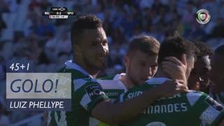 GOLO! Sporting CP, Luiz Phellype aos 45'+1', Belenenses 0-2 Sporting CP