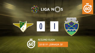 Liga NOS (30ªJ): Resumo Flash Moreirense FC 0-1 GD Chaves