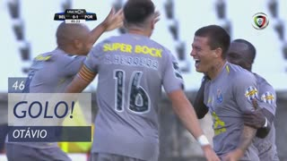 GOLO! FC Porto, Otávio aos 46', Belenenses SAD 0-2 FC Porto