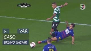 Sporting CP, Caso, Bruno Gaspar aos 61'