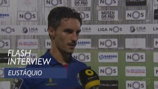 Liga (6ª): Flash interview Eustáquio