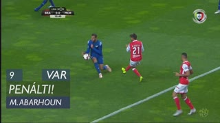 Moreirense FC, Penálti, M. Abarhoun aos 9'