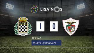 Liga NOS (21ªJ): Resumo Boavista FC 1-0 Santa Clara