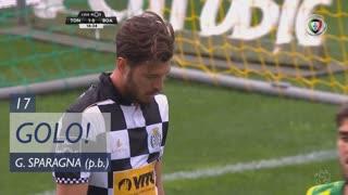 GOLO! CD Tondela, S. Sparagna (p.b.) aos 17', CD Tondela 1-0 Boavista FC
