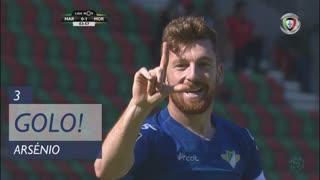 GOLO! Moreirense FC, Arsénio aos 3', Marítimo M. 0-1 Moreirense FC