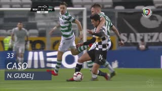 Sporting CP, Caso, N. Gudelj aos 33'