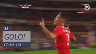 GOLO! SL Benfica, Grimaldo aos 48', SL Benfica 3-0 SC Braga