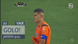 GOLO! Vitória SC, Jadson (p.b.) aos 65', Portimonense 1-1 Vitória SC