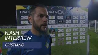 Liga (12ª): Flash interview Cristiano