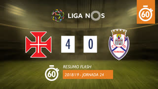 Liga NOS (24ªJ): Resumo Flash Os Belenenses 4-0 CD Feirense