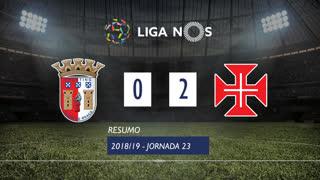 Liga NOS (23ªJ): Resumo SC Braga 0-2 Belenenses SAD
