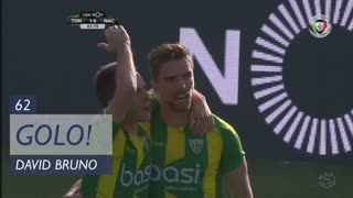 GOLO! CD Tondela, David Bruno aos 62', CD Tondela 1-0 CD Nacional