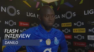 Liga (15ª): Flash interview Danilo