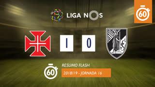Liga NOS (16ªJ): Resumo Flash Belenenses 1-0 Vitória SC